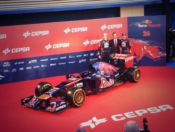 Et voici la Toro Rosso STR9