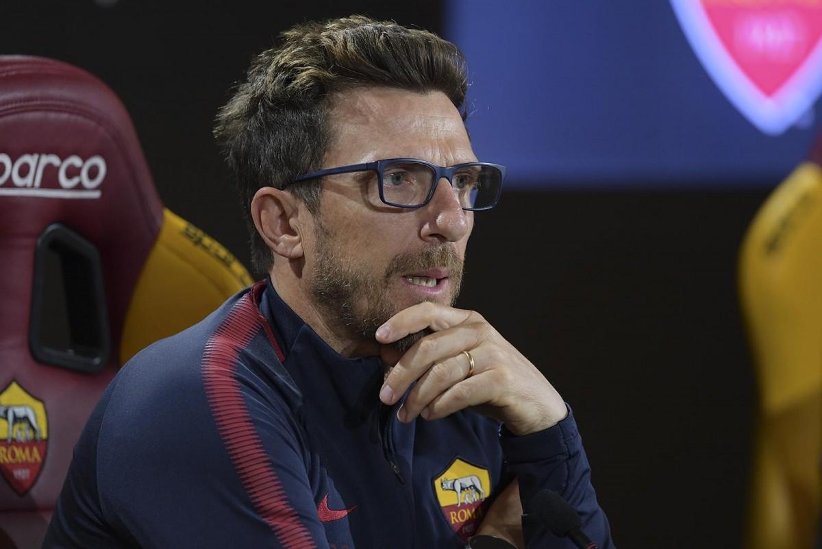 """Roma, Di Francesco: """"Il nostro obiettivo sono i 6 punti"""""""