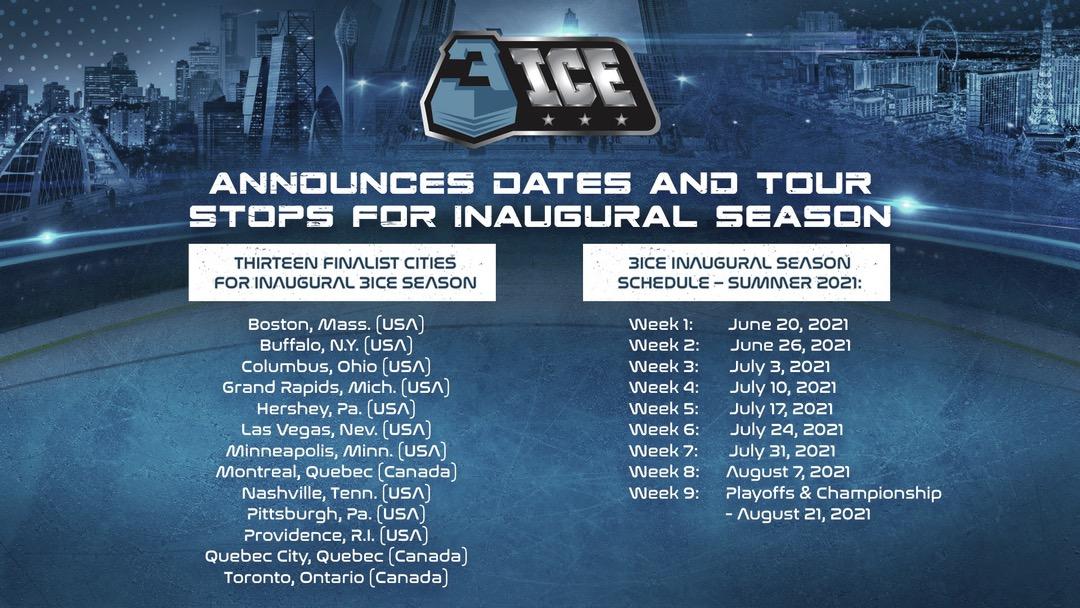 La 3ICE hockey revela su calendario