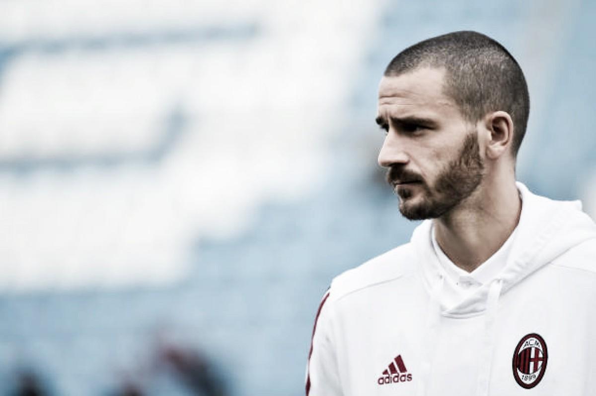 Hoje no Milan, Bonucci revela que 'deu um passo atrás' ao trocar a Juventus pelos rossoneri