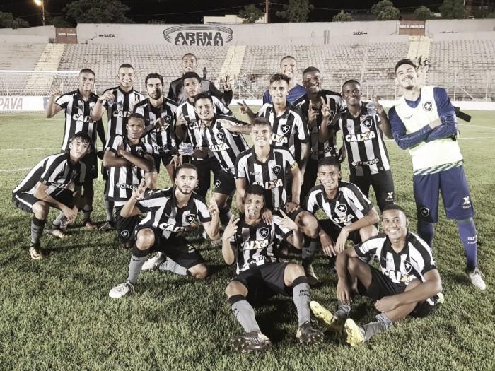 Botafogo se impõe e aplica maior goleada da Copa São Paulo sobre River-PI