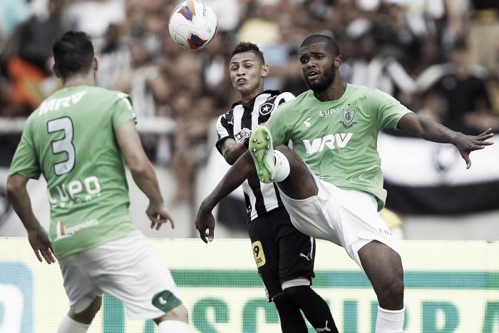 Botafogo e América-MG duelam em Volta Redonda em busca de deixar últimas posições