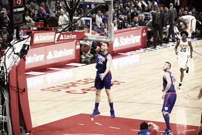LA Clippers ease to victory over Phoenix Suns