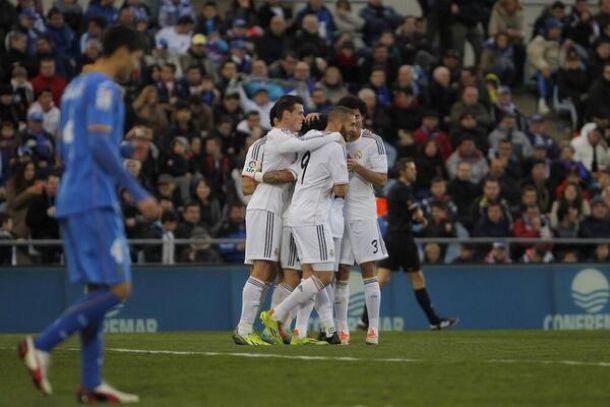 Il Real Madrid vince e convince, il Getafe resta a guardare