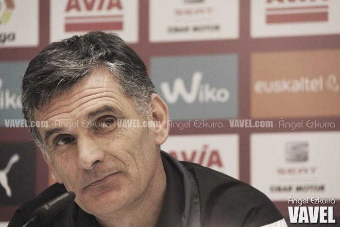 """Mendilibar, tras la derrota: """"Creo que hemos jugado bien"""""""