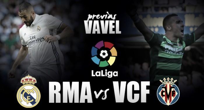 Invicto Real Madrid recebe Villarreal visando manter liderança isolada no Espanhol