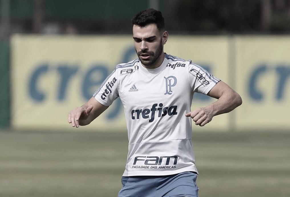 Bruno Henrique prega cautela no Palmeiras: ''Não podemos ficar em cima da vantagem''