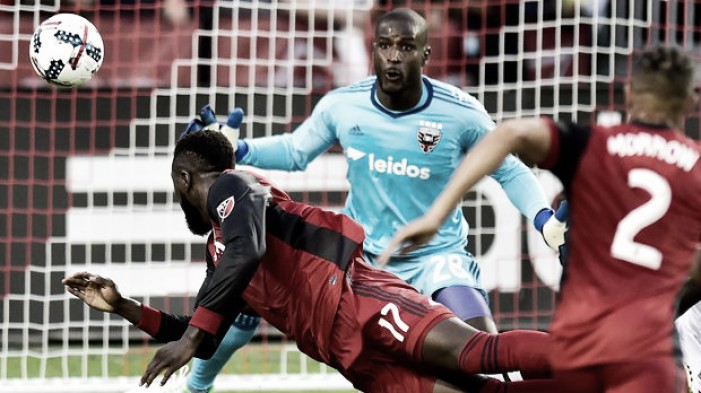 Toronto FC stroll to a two goal win over D.C. United