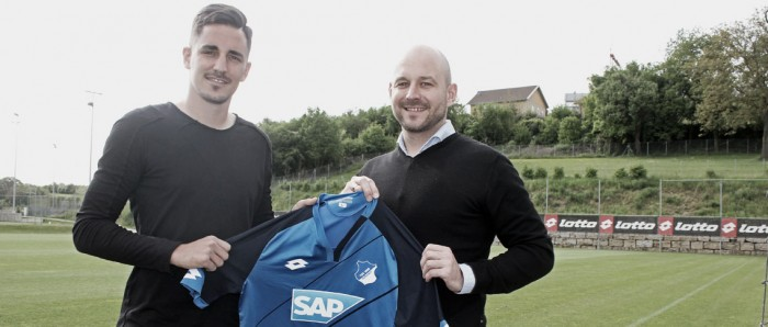 Hübner heads for Hoffenheim