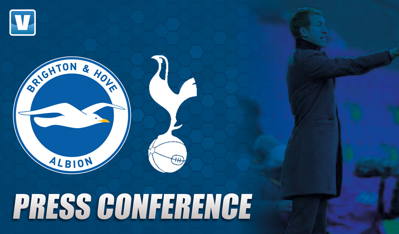 Brighton press conference LIVE: Graham Potter on home form, transfers and Tottenham test
