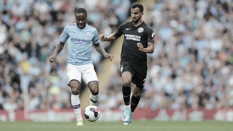 Manchester City enfrenta Brighton tentando quebrar jejum fora de casa