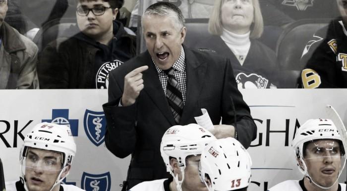 Calgary Flames relieve head coach Bob Hartley of duties