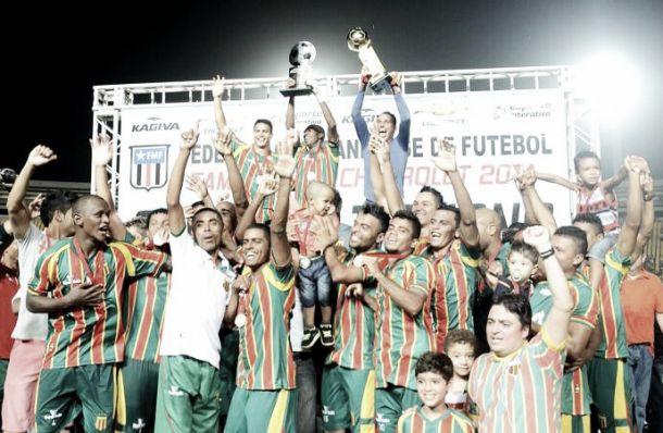 Sampaio Corrêa é campeão do primeiro turno do Maranhense
