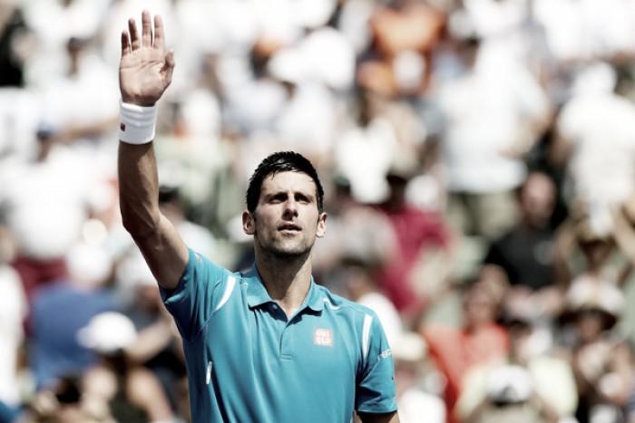 Sin adjetivos para calificar a Novak Djokovic