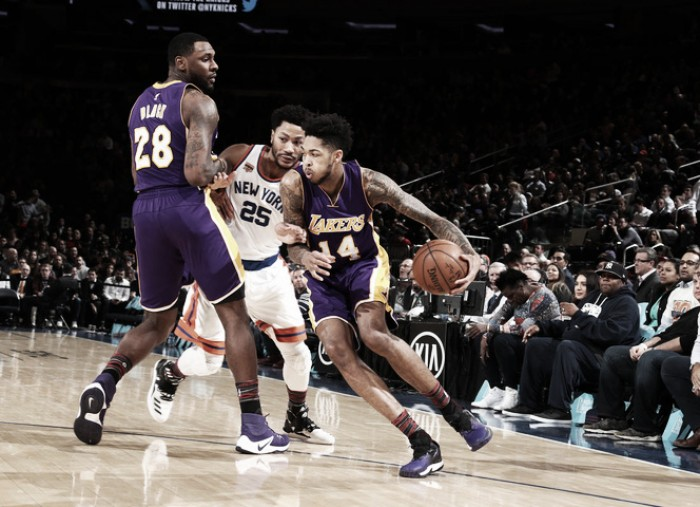 Nba, i Lakers passeggiano a New York. Indiana in volata sui Thunder
