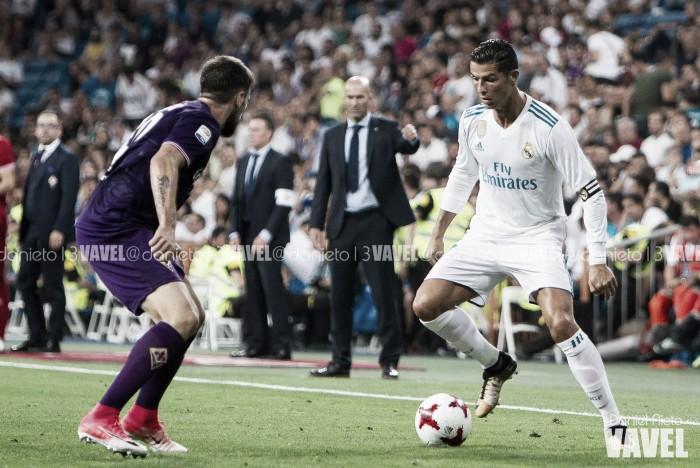 Cristiano Ronaldo es elegido el mejor jugador del Trofeo Santiago Bernabéu