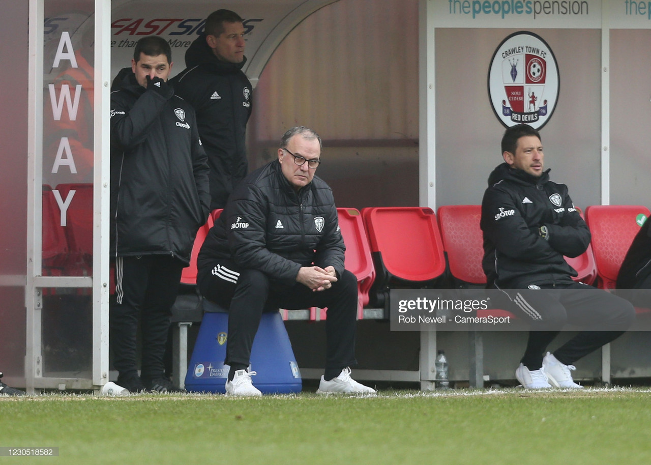 The Key Quotes from Marcelo Bielsa's post-Crawley Town press conference