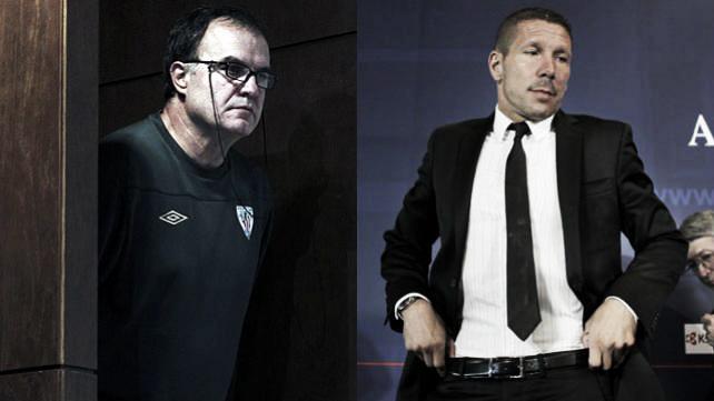 Bielsa vs Simeone: un duelo de estrategas