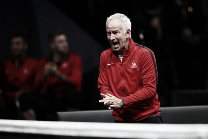 """John McEnroe: """"La Laver Cup ha sido impresionante. Es formidable para el tenis"""""""