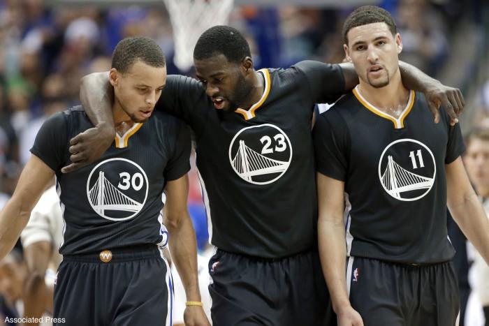 NBA - Klay Thompson escluso dai Top 15. La reazione dei compagni di squadra