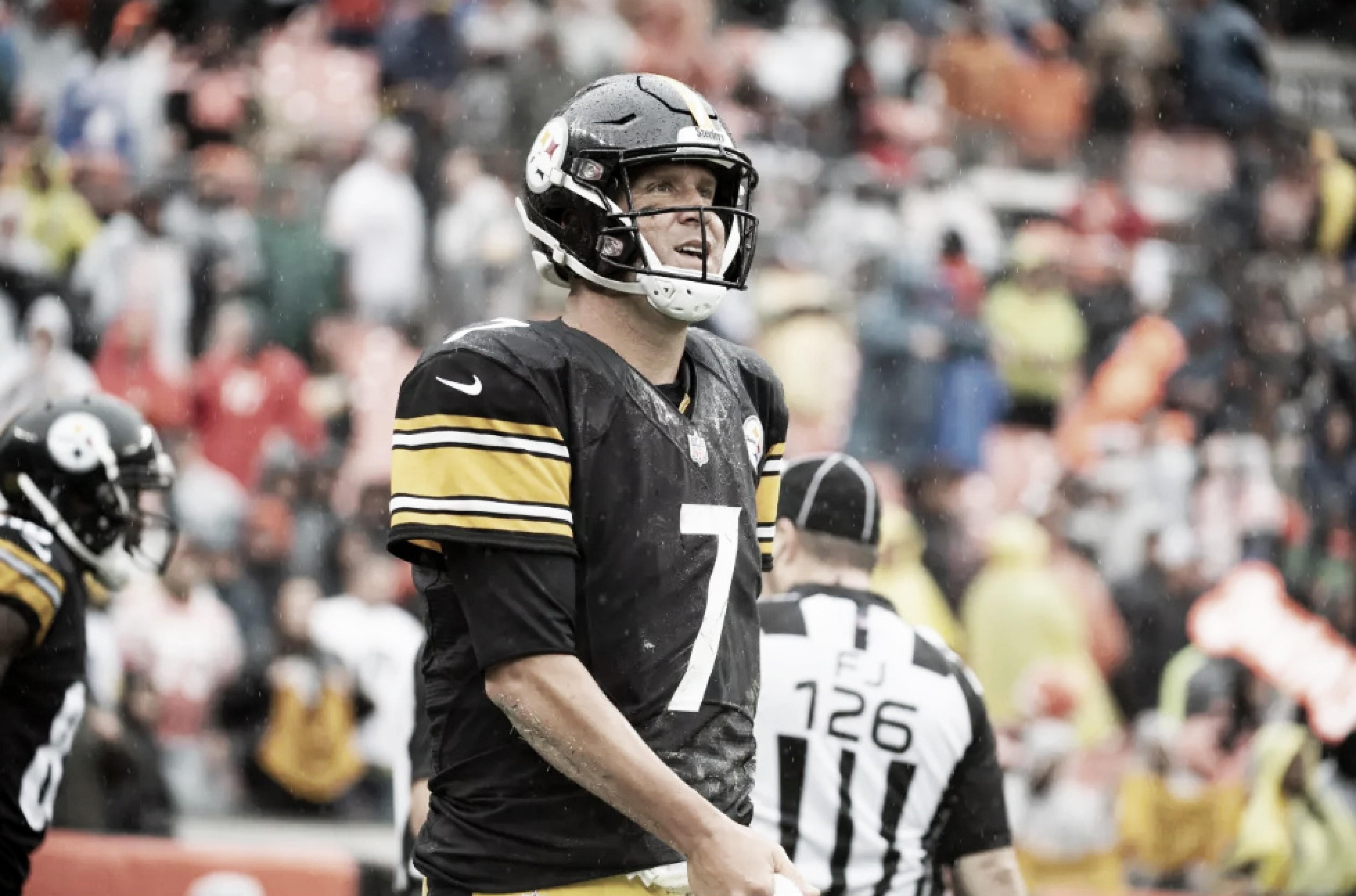 Mesmo com lesão diagnosticada no cotovelo, Big Ben acredita que pode atuar pelo Steelers no domingo