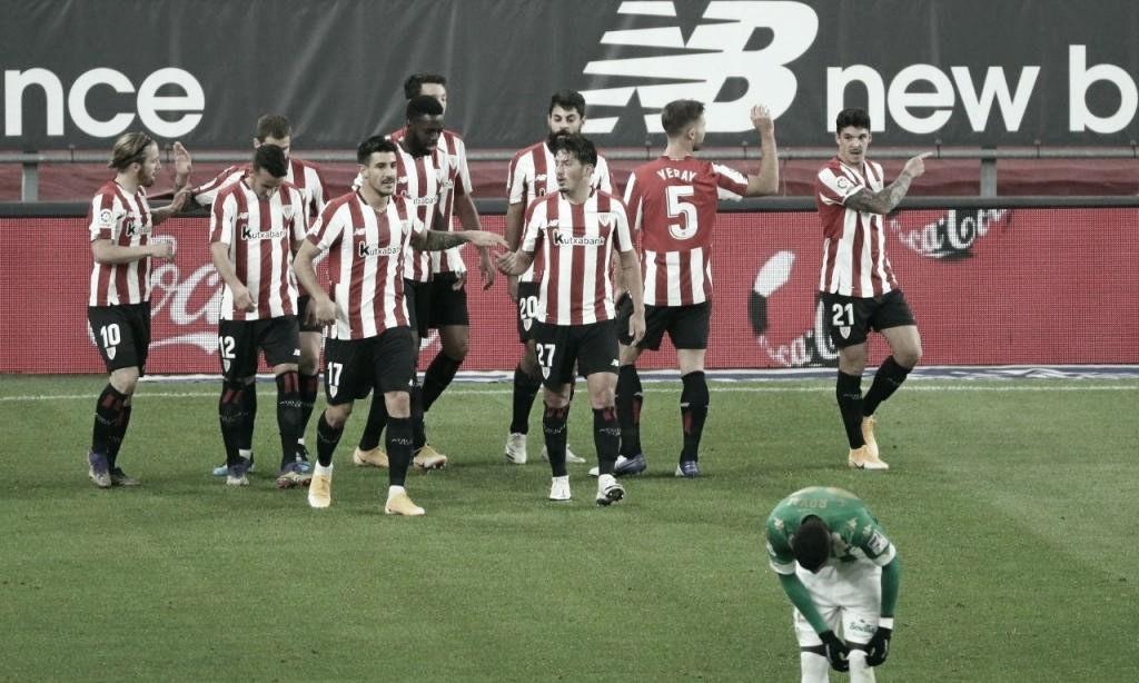 Athletic Bilbao 4 a 0 Betis (La Liga/Divulgação)