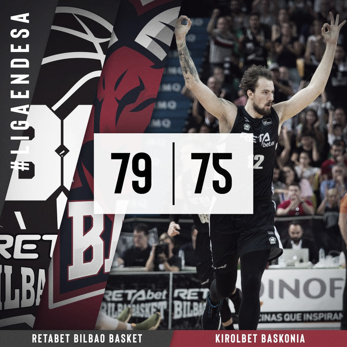 El Bilbao Basket reina en el derbi vasco