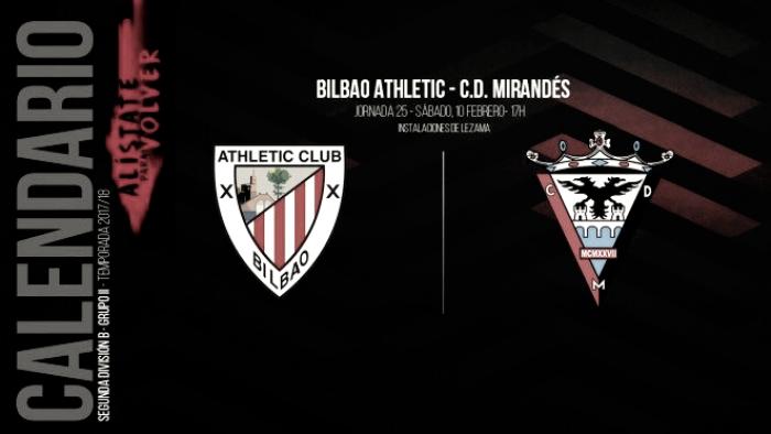 Bilbao Athletic - Mirandes: Foto: CD Mirandés