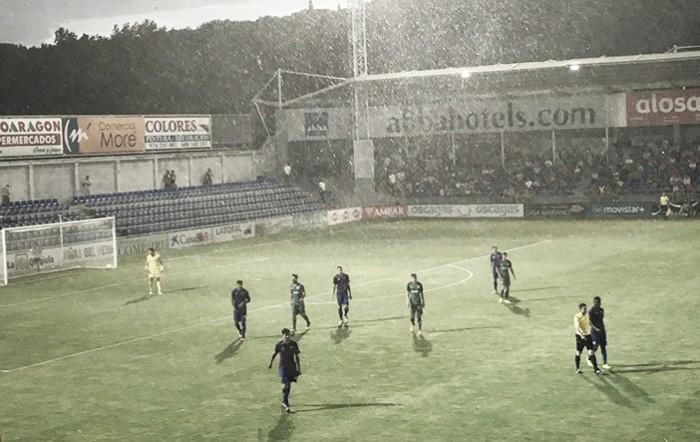Em amistoso com forte chuva, Huesca e Bilbao apenas empatam no El Alcoraz