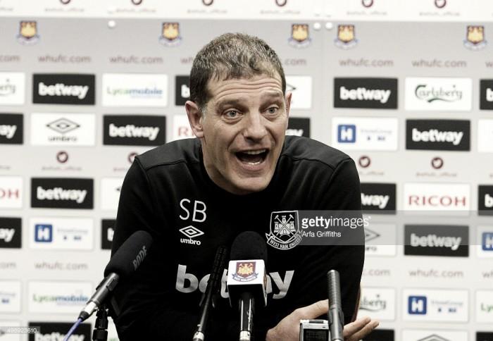 """Slaven Bilic: """"Necesitamos los puntos"""""""