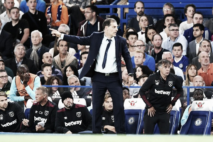 Slaven Bilic frustrated by late Chelsea defeat