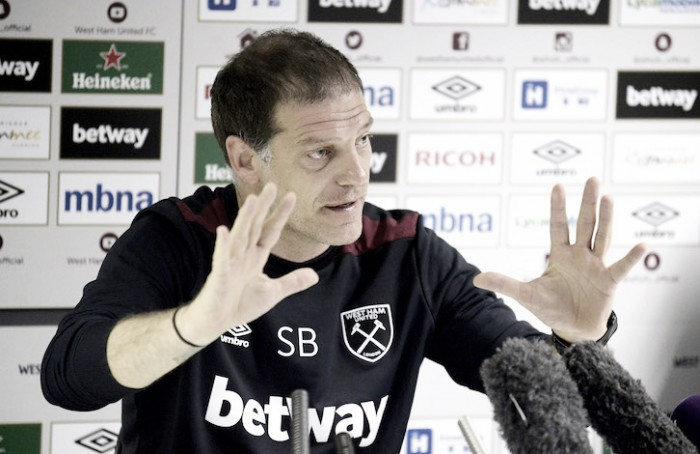 Hammers will not be treated differently this season, insists Bilic