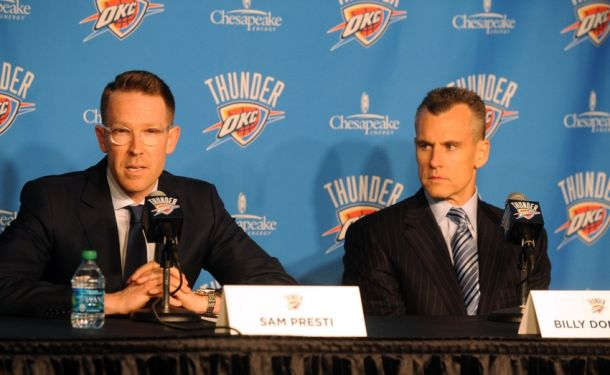 Are Presti and Donovan Done Signing Guards For Oklahoma City Thunder?