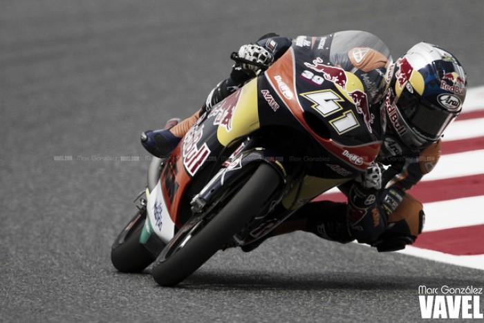 """Brad Binder: """"El objetivo es ser campeón y subir a Moto2"""""""