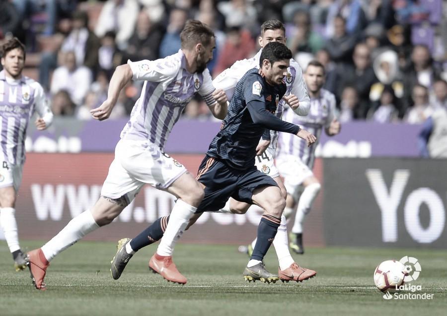 Real Valladolid - Valencia: puntuaciones del Real Valladolid en la jornada 38 de LaLiga Santander