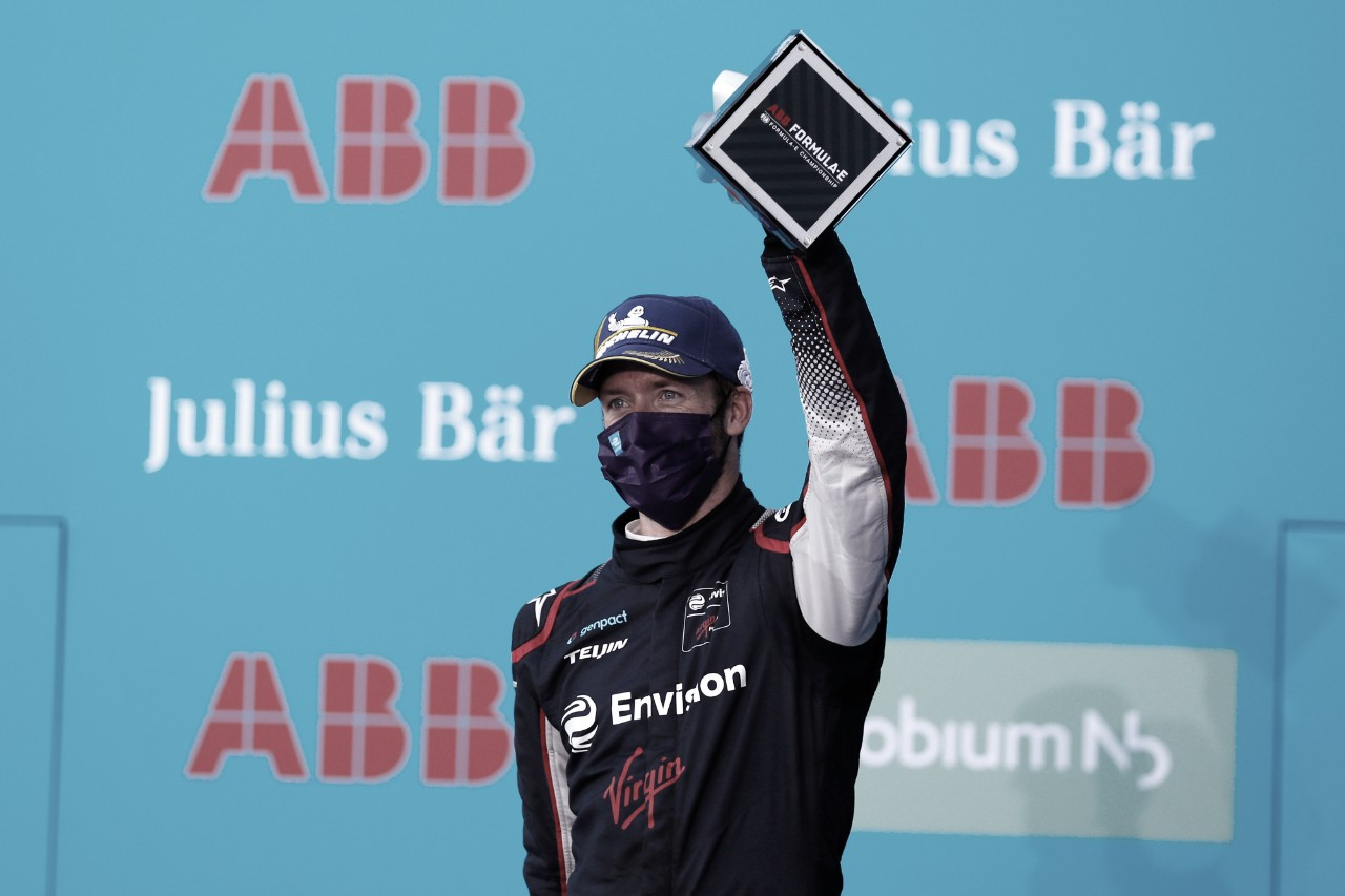 """Bird retorna ao pódio da Fórmula E e comemora: """"Bom reinício de temporada"""""""