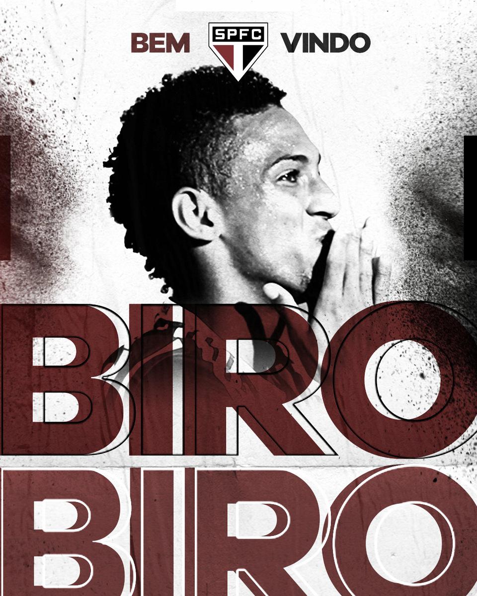 São Paulo anuncia chegada de Biro Biro