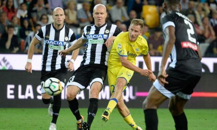 Chievo-Udinese finisce 1-1: primo pareggio stagionale per i friulani