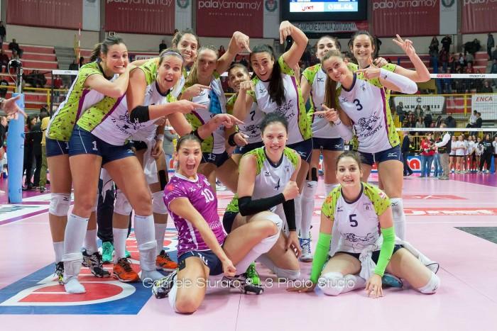 Volley, A1 femminile - L'ottava giornata: le outsider pungono, ma solo Firenze assesta il colpo vincente