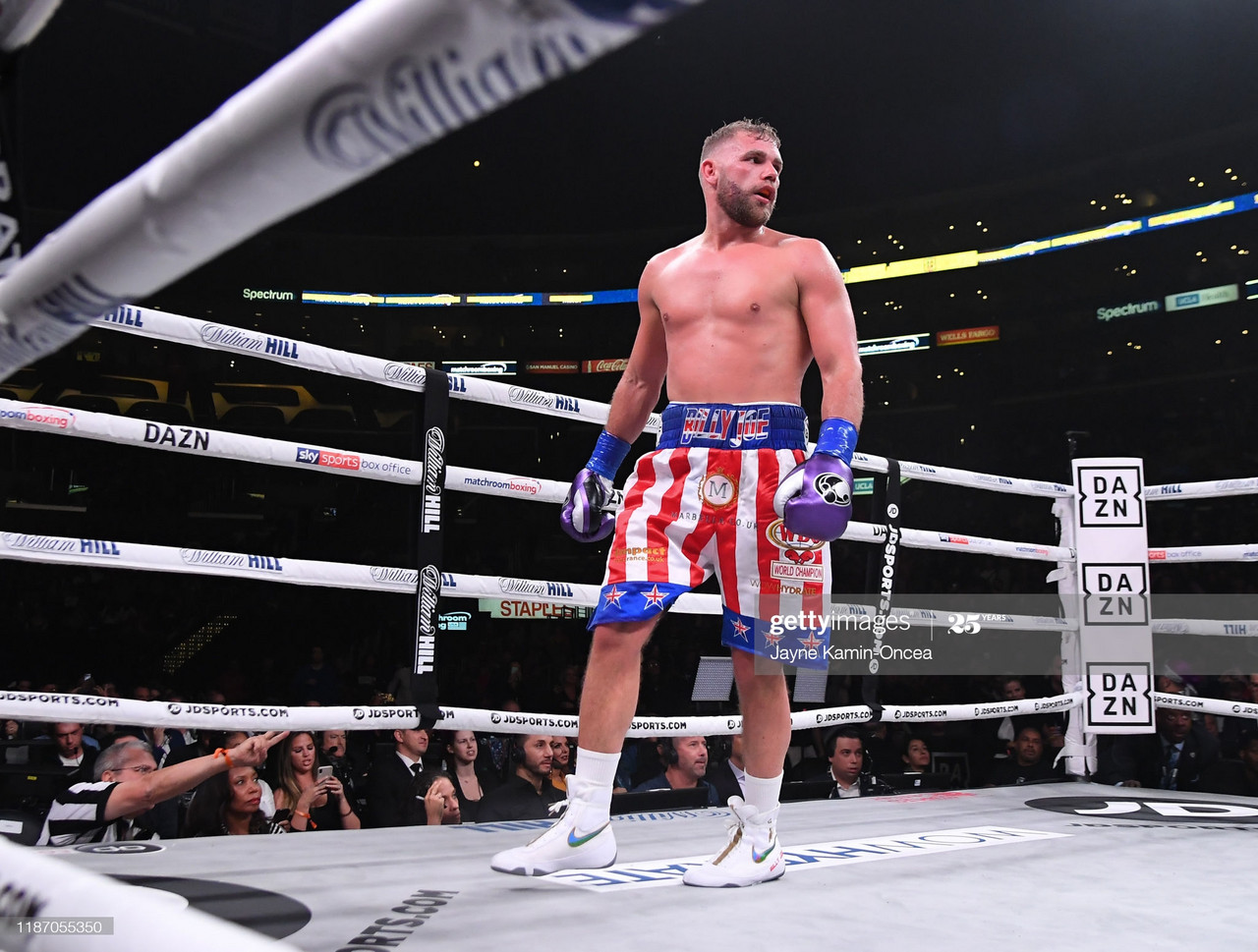 Billy Joe Saunders made the second defence of his WBO Super Middleweight title (PIC: Jayne Karmin Oncea)