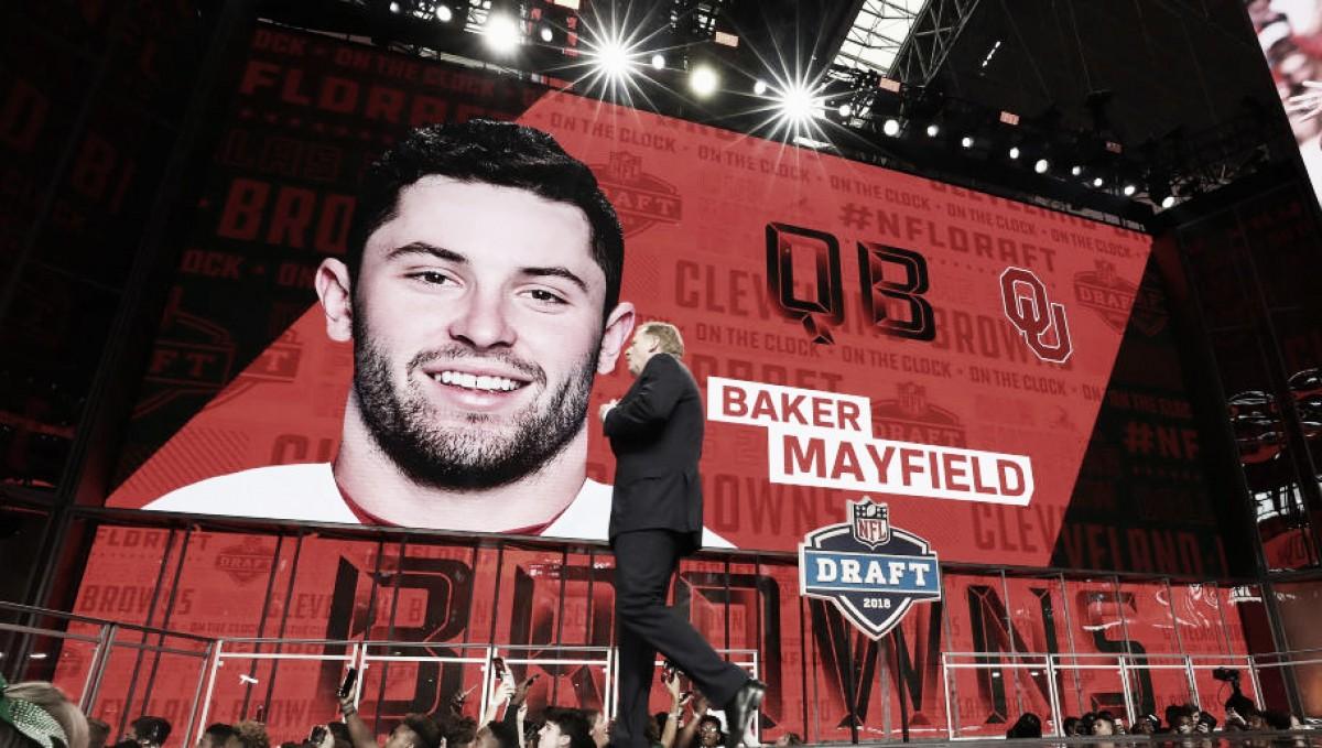 Baker Mayfield y Saquon Barkley han firmado su primer contrato en la NFL
