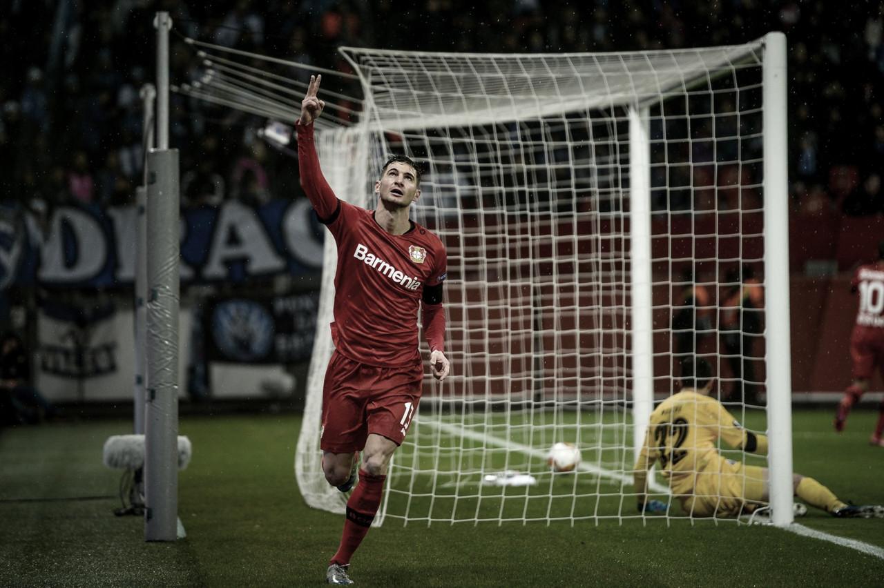 Em noite marcada por apoio a Marega, Bayer Leverkusen derrota Porto pela Europa League