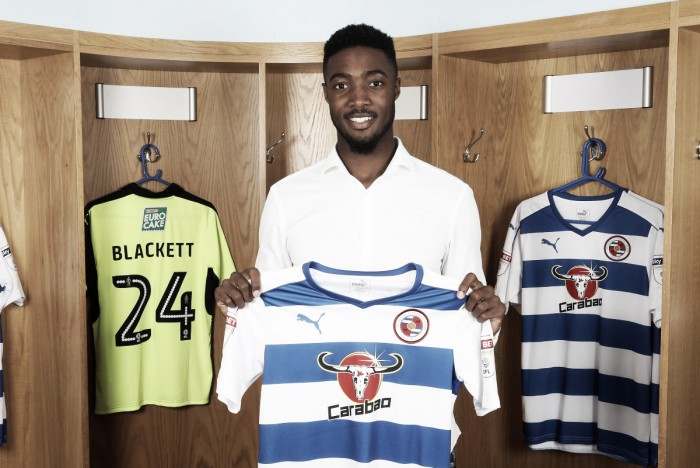 Tyler Blackett joins Reading on a permanent deal