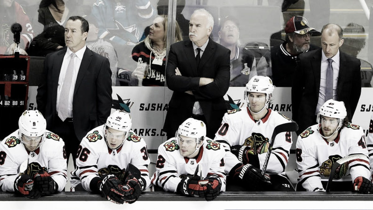 Chicago Blackhawks playoff reign ends