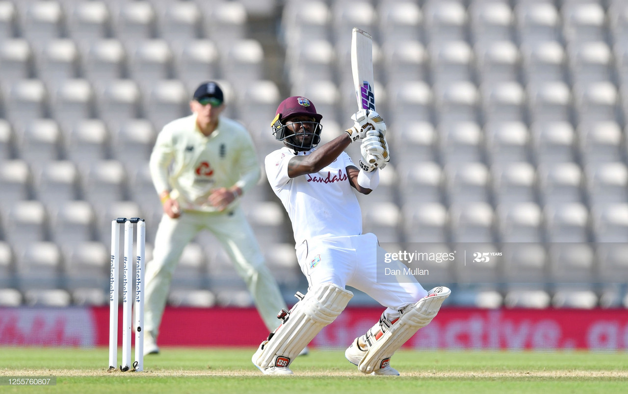 England vs West Indies: First Test Day Five  - Blackwood shines to lead West Indies to victory-