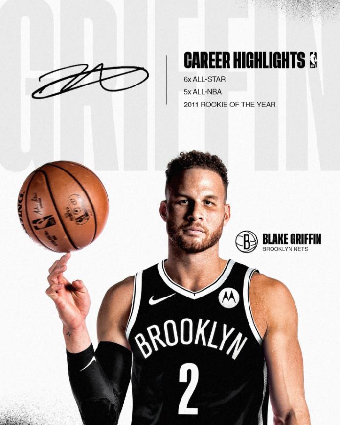 Los Brooklyn Nets fichan a Blake Griffin y cierran así su súper-equipo