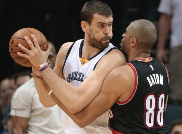 Portland Trail Blazers - Memphis Grizzlies Score 2015 NBA Playoffs Game 2 (80-97)