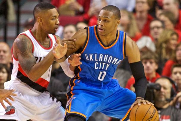 Thunder Vs Trail Blazers