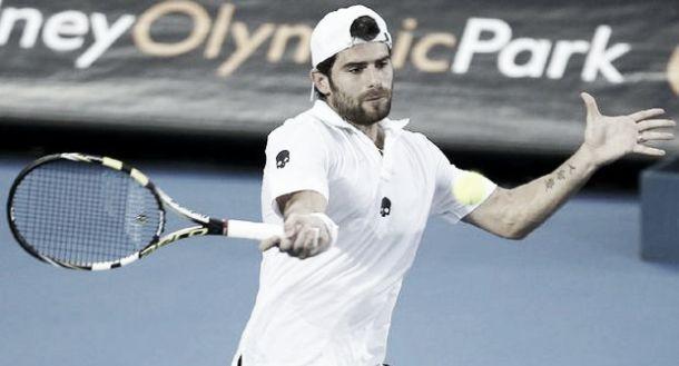 ATP Sidney: Del Potro battuto, Troicki elimina Bolelli