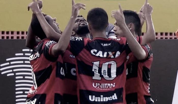 Atlético-GO volta a vencer após oito jogos e complica Sport na luta contra rebaixamento